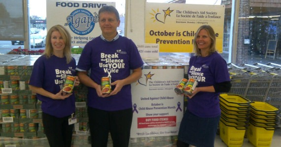 Purple Ribbon Campaign - end child hunger