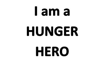 I am a HUNGER HERO